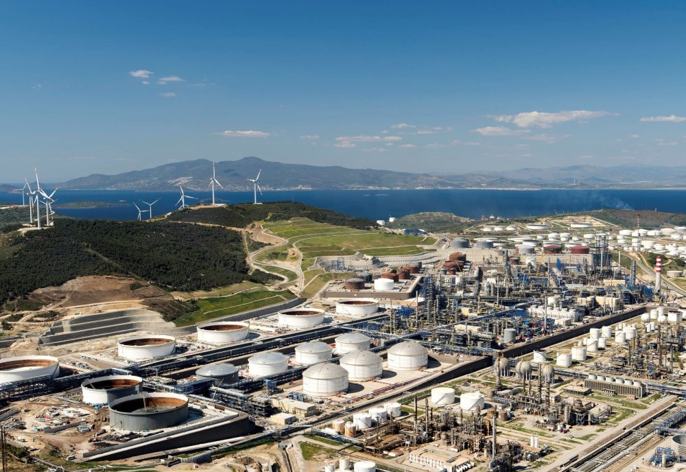 The SOCAR Turkey Aegean Refinery (STAR) in u0130zmir's Aliau011fa district was inaugurated on Oct. 19, 2018 with an investment of $6.3 billion.