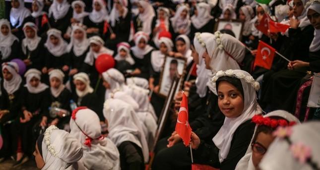 هيئة الاغاثة التركية تخرّج 220 من حفظة القرآن الكريم في غزة