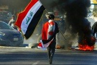 US-Iran conflict eclipses Iraqi protests