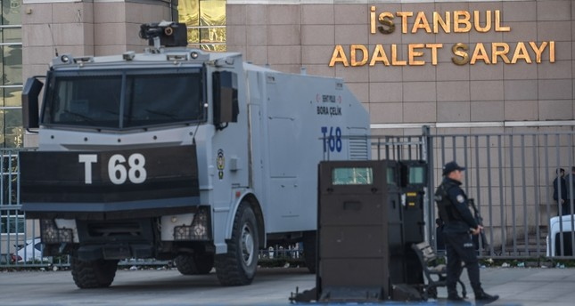القصر العدلي في إسطنبول (وكالة الأنباء الفرنسية)