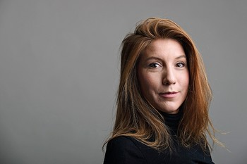 Swedish journalist Kim Wall poses for a picture in Sweden on 28 December 2015 (issued 12 August 2017) (EPA Photo)