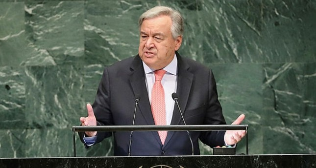 Image result for Guterres UNGA