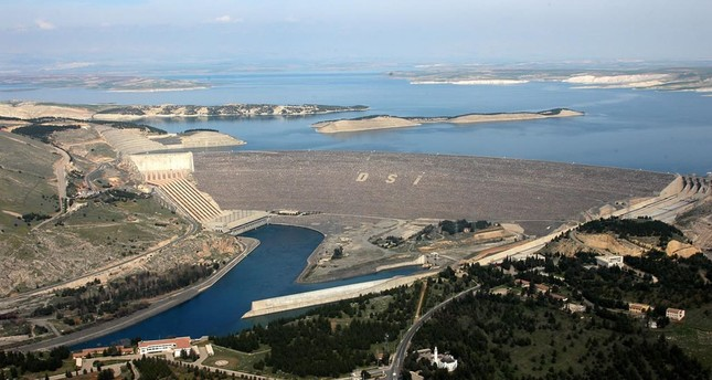 Built as part of Turkey's Southeast Anatolian Project on Euphrates, Atatürk Dam has been operating since 1992.