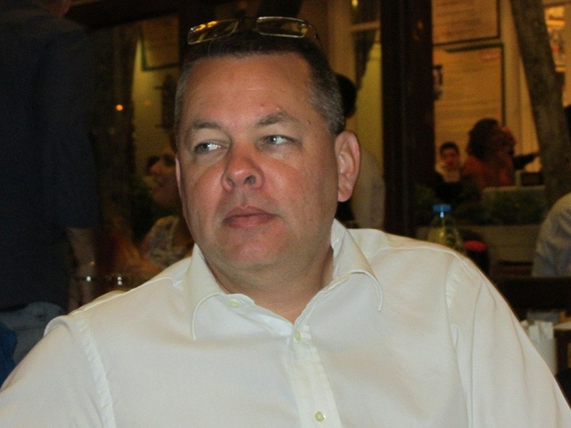 American pastor Andrew Craig Brunson faces charges of espionage and aiding the PKK and FETu00d6 terrorist groups. (File Photo)