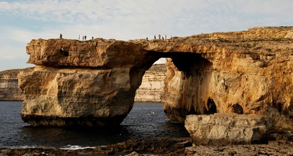 pA rock structure in the form of an arch which had featured in countless Malta tourism brochures collapsed into the sea on Wednesday in what Prime Minister Joseph Muscat described as a...