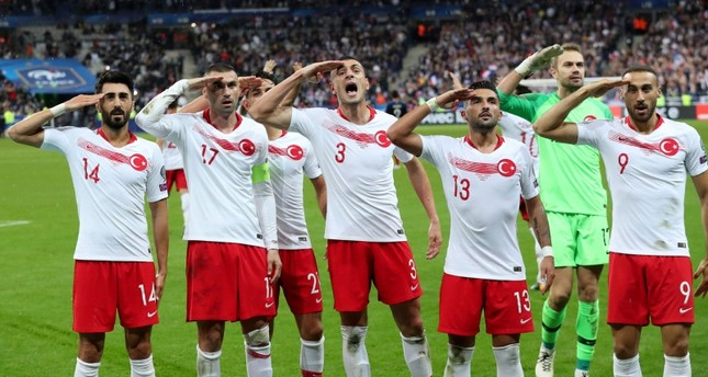 UEFA probe on Turkey team's celebration reveals double standards