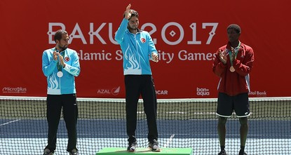 pTurkey came in second place at the end of the 4th Islamic Solidarity Games in the Azerbaijani capital, Baku, on Monday with 71 gold, 67 silver and 57 bronze medals, totaling 195 medals in the...