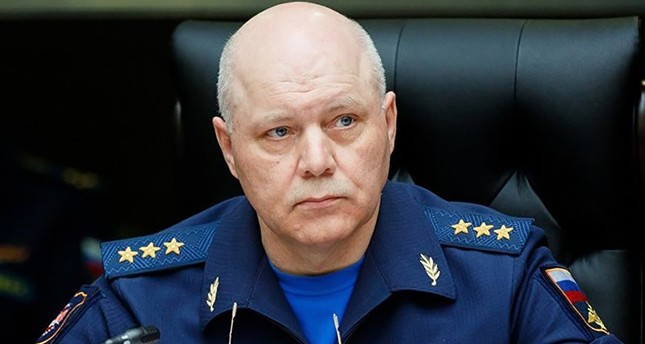 This handout picture taken on August 25, 2017 and released by the Russian Defence Ministry shows Igor Korobov, the head of the Main Directorate of the General Staff of the Russian Armed Forces. (AFP Photo)