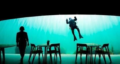 Europe's first underwater restaurant awaits visitors