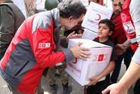 أدان المتحدث باسم الخارجية التركية، حامي أقصوي، مزاعم لرئيس اللجنة الدولية للصليب الأحمر، بيتر ماورير، جاء فيها أن الهلال الأحمر التركي