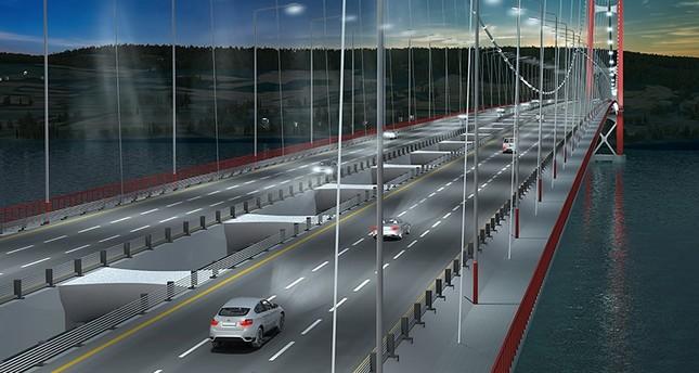 بمشاركة أردوغان ويلدريم.. وضع حجر الأساس لأطول جسر معلق في العالم غربي تركيا