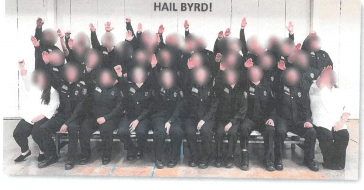 The Division of Corrections and Rehabilitation, Basic Training Class #18 poses for a photo, West Virginia, Dec. 30, 2019.
