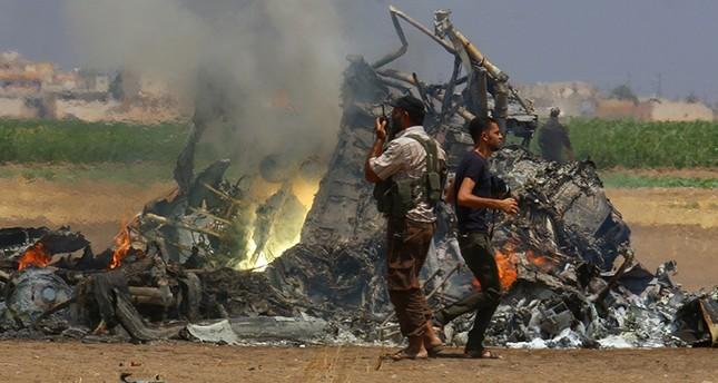 إسقاط مروحية عسكرية روسية في سوريا ومقتل 5 من طاقمها