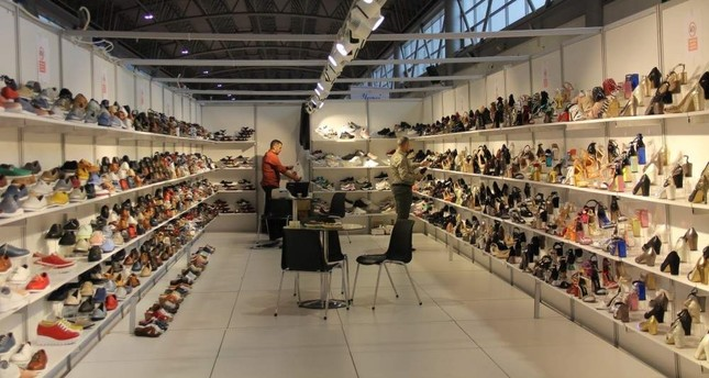 In the period of January to November, Turkey reached $1.6 billion in exports of footwear and leather products. AA Photo