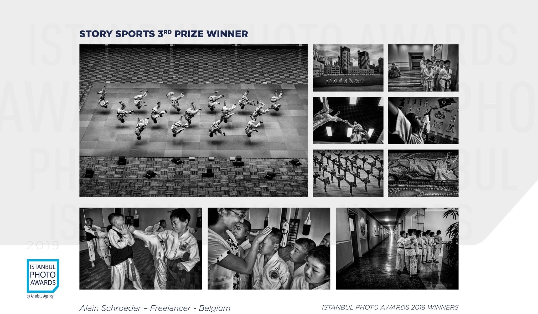 Story Sports 3rd Prize — Taekwondo North Korea Style