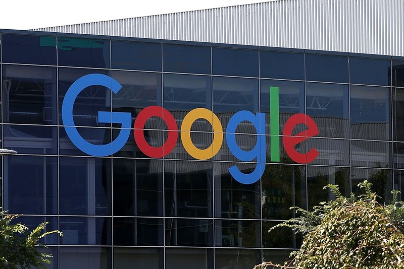 This file photo taken on Sept. 1, 2015, shows the Google logo at the Google headquarters in Mountain View, California. (AFP Photo)