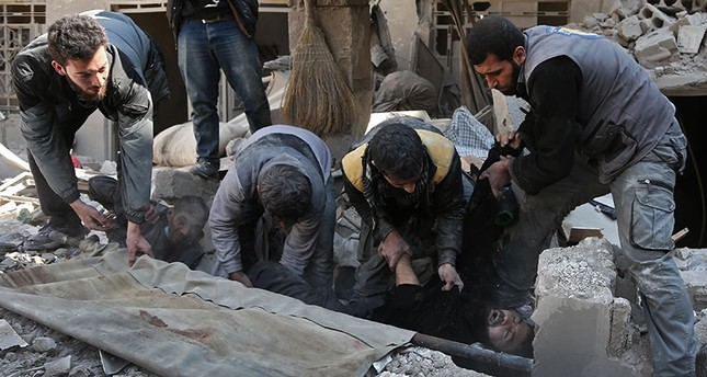 Russia denies role in deadly strikes on Syria's Ghouta