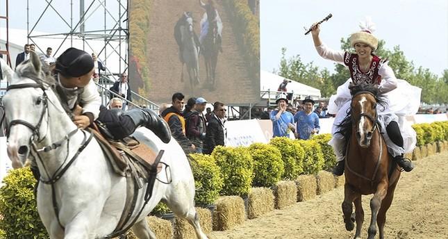 إقبال كبير على أنشطة آخر أيام مهرجان الرياضات التقليدية في إسطنبول