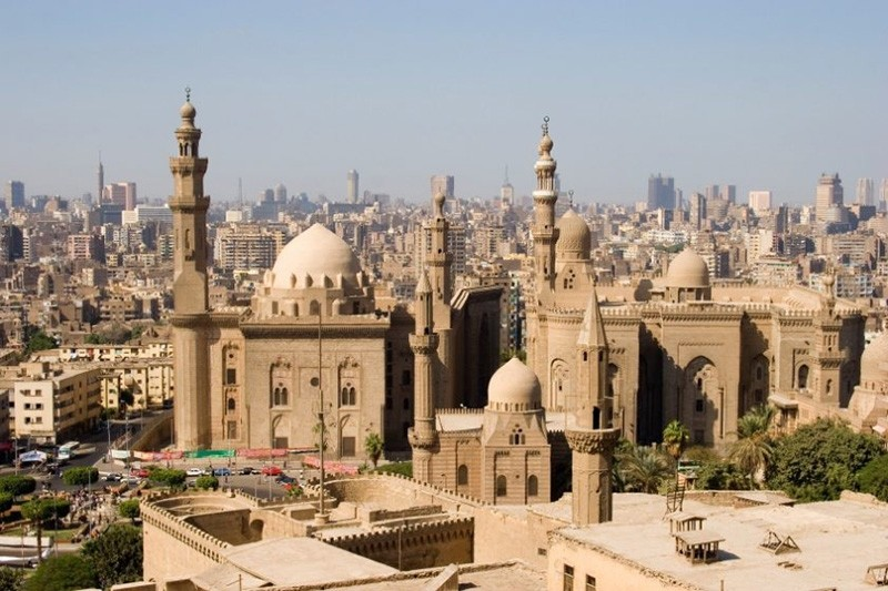 Al-Rifai & Sultan Hassan Mosques in Cairo, Egypt (Sabah File Photo)