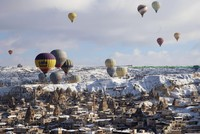 Hot air balloon tours rose 63 percent in Cappadocia in 2018