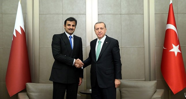 أردوغان وأمير قطر يبحثان في اسطنبول المستجدات الإقليمية والدولية