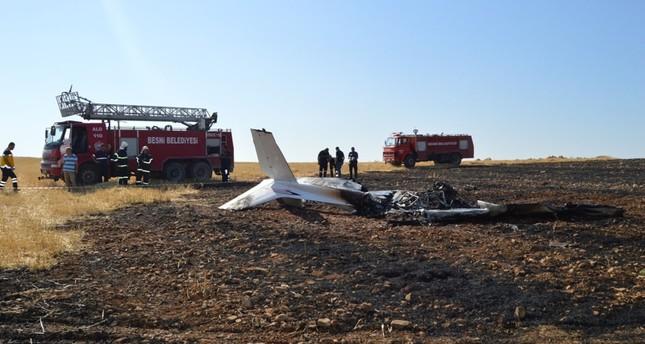 مصرع طيار تركي متدرب إثر سقوط طائرته جنوب تركيا
