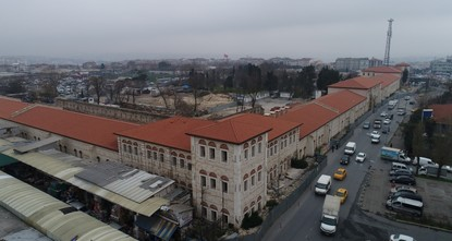 Turkey's biggest library to open in former Istanbul artillery barracks