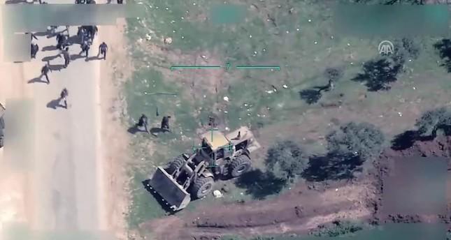 فيديو.. إرهابيو ي ب ك يعرقلون مغادرة المدنيين من عفرين
