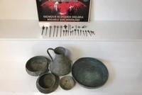 Police seize Byzantium-era artifacts in central Turkey's Kırşehir