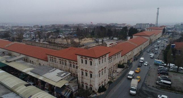 A general view of Rami Barracks under renovation. AA Photo