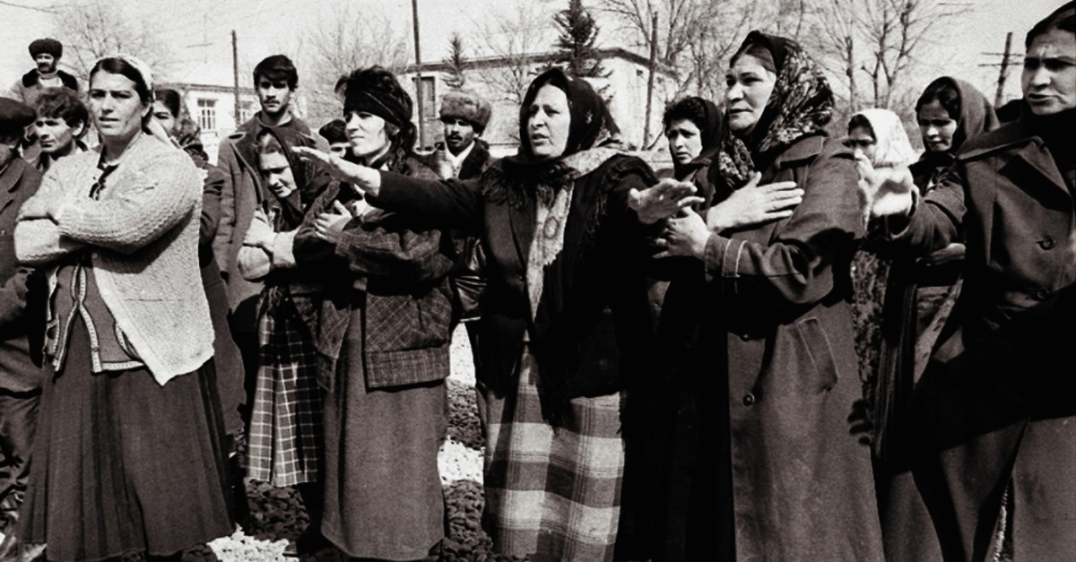 On Feb. 26, 1992, 613 Azerbaijani civilians were brutally killed by Armenian forces in Khojaly, a small town in the country's upper Karabakh region, according to official numbers.