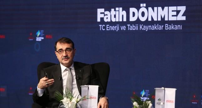 فاتح دونماز وزير الطاقة والموارد الطبيعية التركي