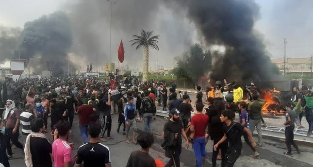 واشنطن تدين قمع بغداد المروع والشنيع للمتظاهرين في الناصرية