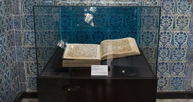 At Topkapı Palace in Istanbul, there is a very old copy of the Quran that is referred to have belonged to Caliphate Uthman.