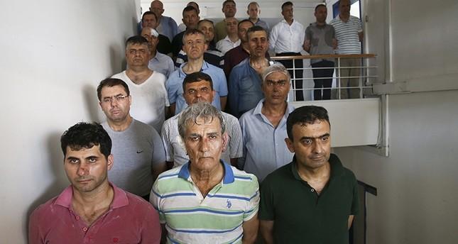 المحكمة تأمر بحبس 99 من قيادات الجيش الموقوفين على خلفية محاولة الانقلاب