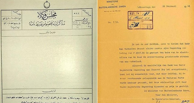 وثائق أرشيفية تثبت إرسال الدولة العثمانية مساعدات لهولندا بعد فيضان ضخم