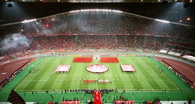 General view of Istanbul's Ataturk Olympic Stadium. (File Photo)