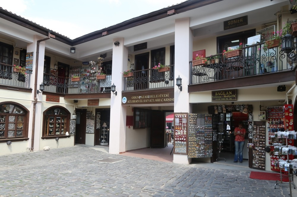 The shops in Odunpazaru0131 still operate as it were back in the day.