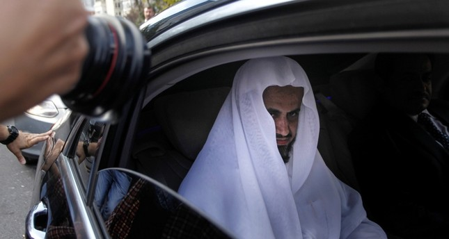 Saudi Attorney General Saud al-Mujeb leaves Istanbul Courthouse after meeting with Istanbul Chief Public Prosecutor Irfan Fidan on Nov. 01, 2018. (DHA Photo)