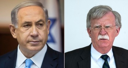 Bolton meets Netanyahu in Jerusalem to discuss Iran