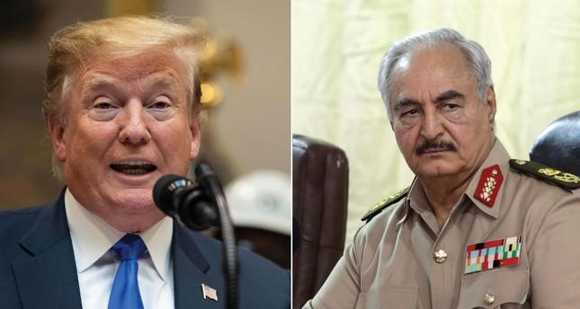 Trump L and Haftar