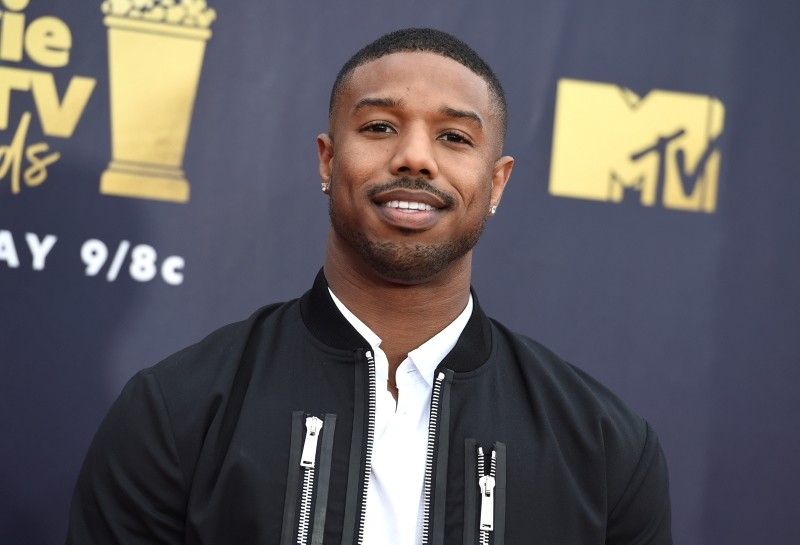 Michael B. Jordan, the star of u201cJust Mercy,u201d the first production to fall under the inclusion policy. (AP Photo)