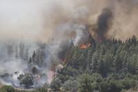 مصرع رجلي إطفاء في حرائق أنطاليا التركية