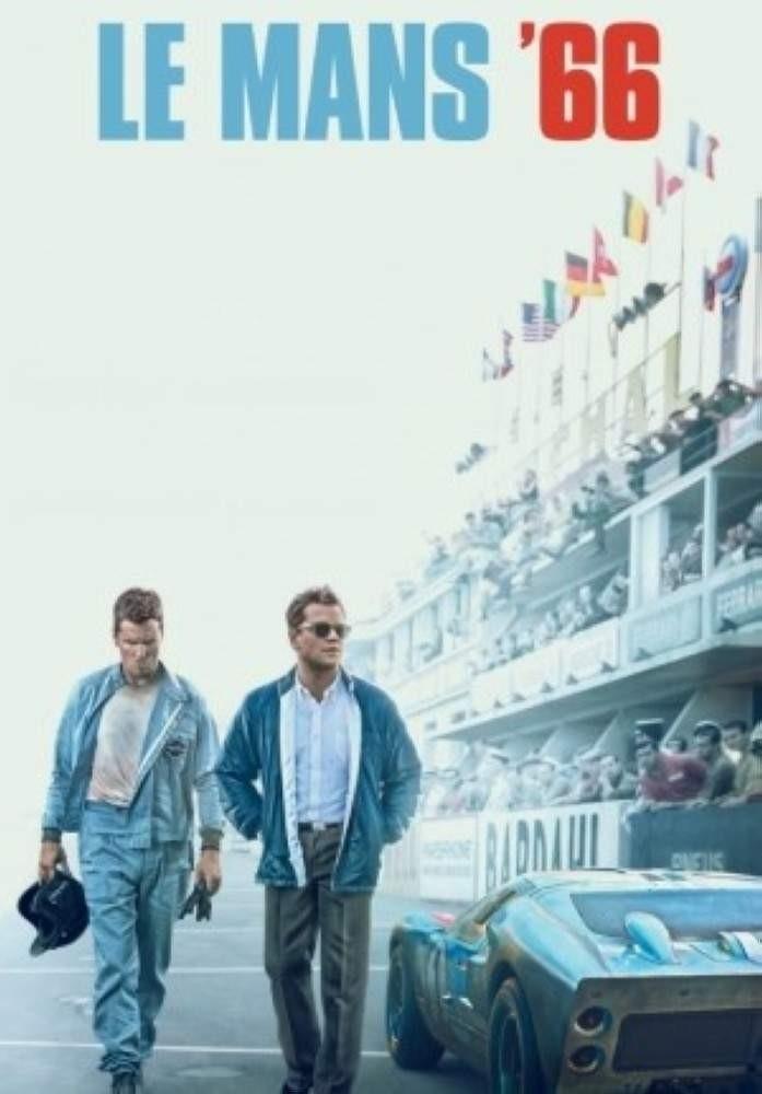 Christian Bale and Matt Damon in ,Le Mans '66.,