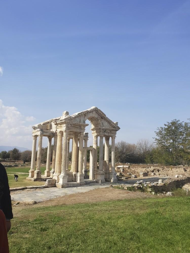 The Aphrodisias ancient city in Aydu0131n.