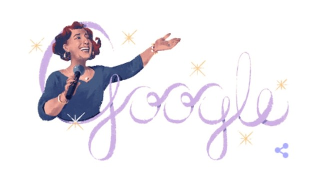 Google doodle celebrates 100th birthday of 'Diva of the Republic' Müzeyyen Senar