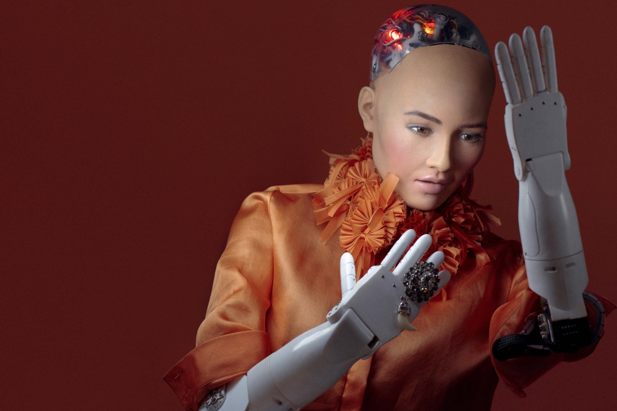 Sophia is a social humanoid robot developed by Hong Kong-based company Hanson Robotics in 2015.