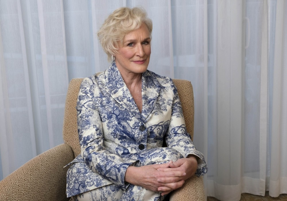 Glenn Close has been nominated for an Oscar for best actress for her role in ,The Wife.,