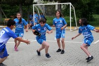 Popped basketball helps bring Turkey title for girls' rugby team