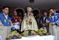 A festival peculiar to the Armenian community in rural Turkey offers an insight into the place religion has in the community and a taste of the first grapes of the season.
